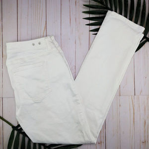 CAbi | Spring '17 White Slim Boyfriend Jeans #5171